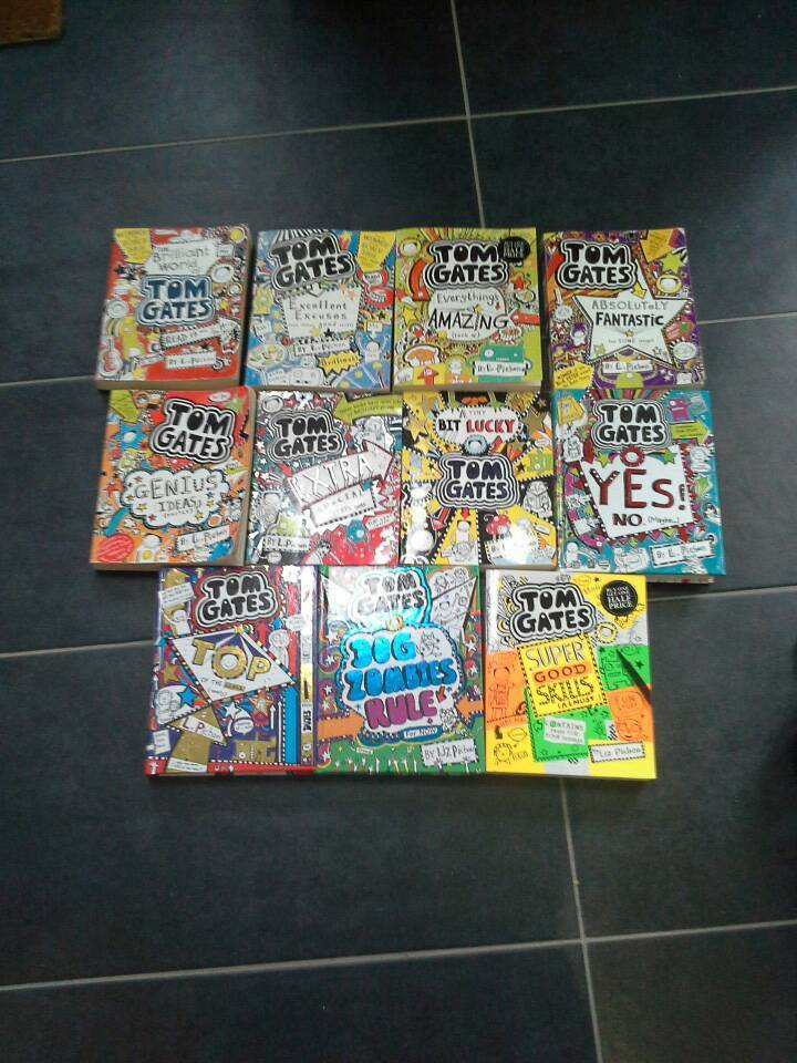 Full Tom gates series for age 7 to 10