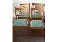 4 x Dining or Kitchen Chairs