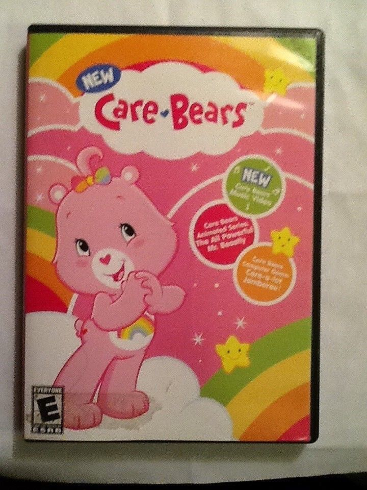 Computer Games - CARE BEARS - COMPUTER GAME, VIDEO & MORE - DVD - ROM