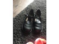 Black kickers, worn once