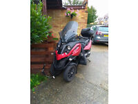Gilera Fuoco 500 full service history , swap for Piaggio Yourban 300