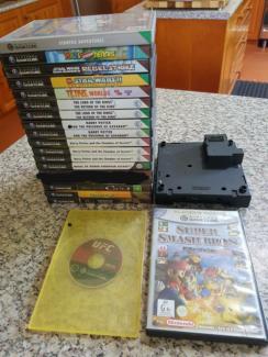 Gamecube Games & Gameboy Player