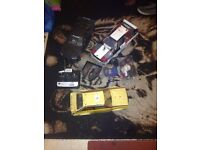 nitro tamiya rc car & a battrey one and make un-none and loads of rc car part £125 posted or £100