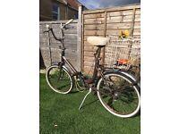 Beautiful classic ladies vintage bike!