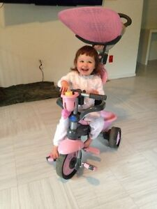 Smart tricycle (pink/grey)