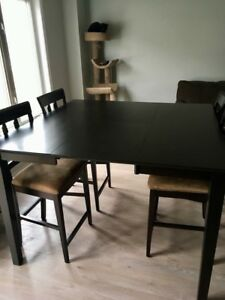 Counterheight Dining Table & 8 Chairs