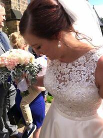 Wedding dress perfect condition