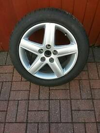 Volkswagen AUDI 17 inch Alloy Wheel with 225/50 R17 Goodyear Runflat Tyre