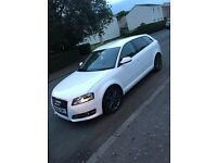 AUDI A3, 1.6 TDI SPORT, WHITE, GREAT RELIABLE AND ECONOMIC CAR
