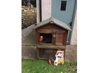 Rabbit/Guineapig Hutch Two Tier (used) but in great condition