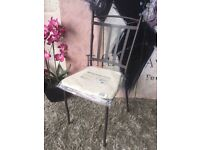 Brand New Blooma Sofia Metal Garden Chair With Cushion