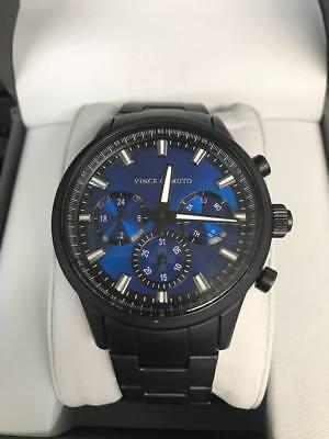 Blue Watch (Vince Camuto Men's VC/1087BLTI Multi-Function Blue Dial)