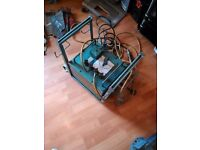 3 pin house hold plug 110 amp arc welder made by oxford