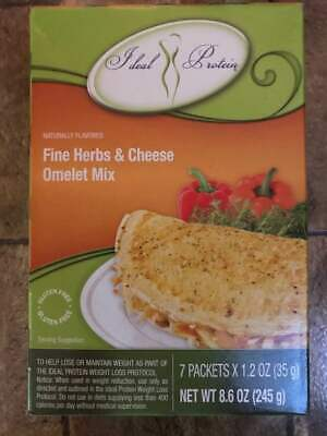 Ideal Protein Fine Herb Omelet 7 packets 18g protein