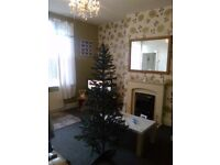 5 foot artifical green xmas tree. brand new. with everything included. all you need