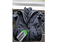 Ski Jacket - Superdry Snow SD-Windbomber Jacket - Size S