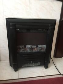 Electric heater for fireplace