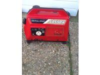 Kawasaki Petrol generator 240v GD55OA and Battery charger Sim-pull start silent runner cb5 £135 Ono