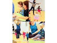 Baby and Toddler Music, Dance & Movement Classes Newton Mearns with Intellidance UK