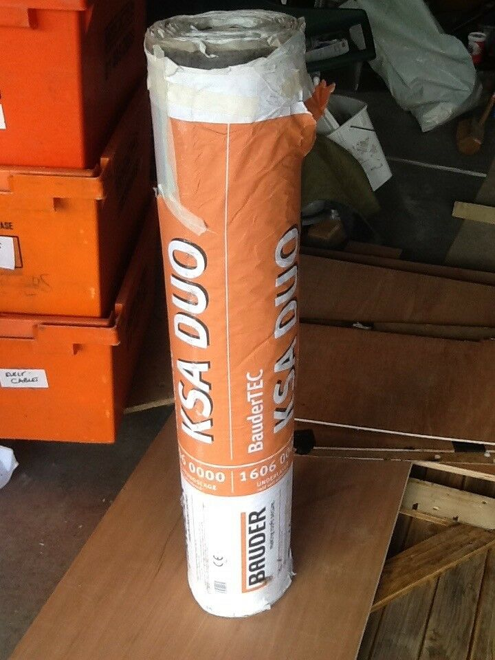 ROOFING FELT BAUDER KSA DUO COLD SELF ADHESIVE UNDERLAY ...