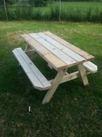 kids picnic table handmade