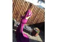 PROM DRESS FOR SALE SIZE 8 *Tight fit, backless,worn once*