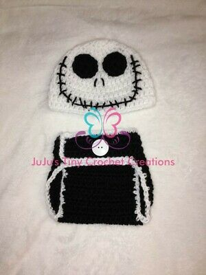 Jack Skellington-Inspired Baby Costume Outfit Photo Prop](Jack Skellington Outfit)