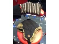 Timberland deerstalker hat new,unwanted gift,also gloves and scarf,only £8,pos local delivery
