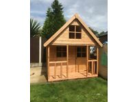 6ft x 6ft wooden playhouse NEW mini chateau - Fully T&G