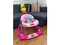 Used Mothercare Kiddu Morgan Baby Walker Pink RRP £60 (from smoke & pet free home)
