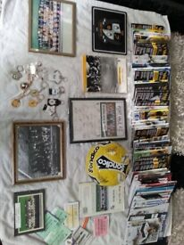 Port Vale memorabilia signed ball signed pictures keyrings etc £35