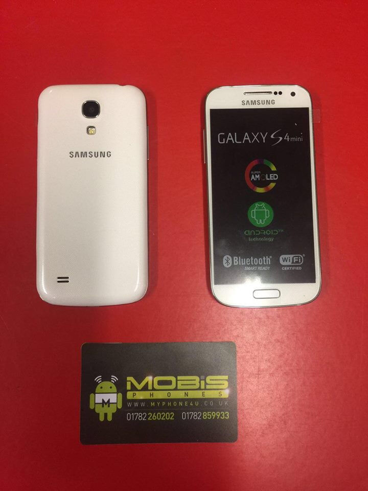 SAMSUNG GALAXY S4MINI SIM FREE COMES WITH CHARGER AND THREE MONTHS WARRANTY FREE DELIVERY LOCALLYin Stoke on Trent, StaffordshireGumtree - SAMSUNG GALAXY S4 MINI SIM FREE COMES WITH CHARGER AND THREE MONTHS WARRANTY FREE DELIVERY LOCALLY