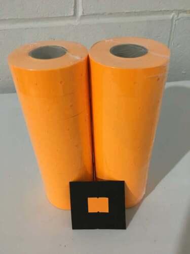 Towa GL 2 Line Orange Price Marker Gun Label sticker $ WOW $