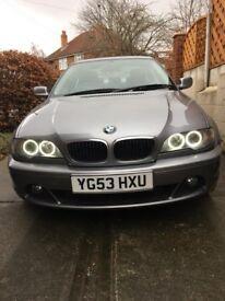 BMW 318CI E46 2.0 3 SERIES VERY LOW MILEAGE 65K - LONG MOT - BEAUTIFUL CAR