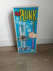 Vintage 50's 60's Kerplunk board game