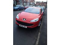 *** FOR SALE *** PEUGEOT 407 Bellagio Coupe - 63k - very good condition
