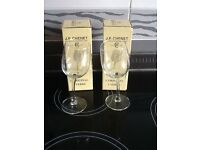 J.P.Chenet wine glasses x 2 i n their original boxes