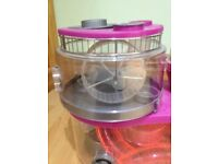 Rotastak hamster cage with travel carrier