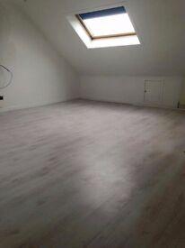 Plastering, wet wall, click flooring, partition walls