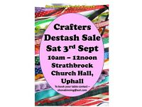 Crafters Destash Sale