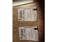 Alton towers tickets 2 day pass