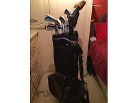 Wilson Staff Golf Clubs with Adjustable Fairway Wood