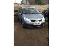 RENAULT GRAND SCENIC 1.6L 7 SEATER CHEEP PX TO CLEAR