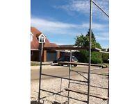 Steel tower scaffold
