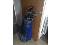 PGA Bag, Yonex Irons, Woods, Chipper and putter