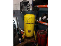 dunlop air compressor 150 ltr