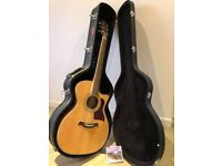 Turner TG42CE/NA acoustic/ electro guitar with Stagg case and pack of D'Addario strings