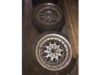 Used, E30 bbs alloys for sale  High Wycombe, Buckinghamshire