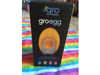 Brand new in box GRO EGG the colour changing digital room thermometer