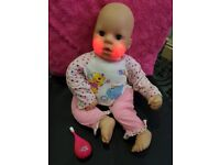 Chou Chou interactive doll with toothbrush